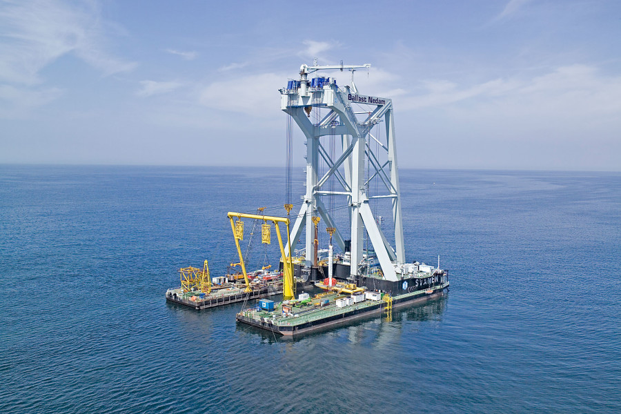 GNSS960 RTK precision 25 miles Offshore