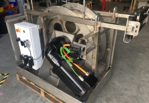 Highspeed hydrographycal tow winch 11Kw