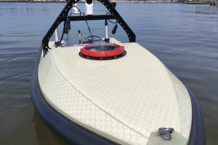 Unmanned Surface Vehicle FAST Monodrone 1800 Operational hydrography